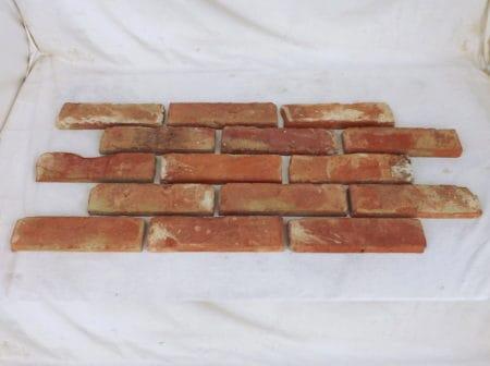 Antikriemchen alte Ziegel Riemchen Verblender Backsteine Rückbau Mauersteine rustikal Mauerwerk