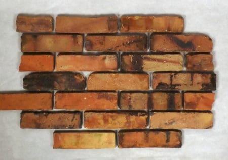 Klinker Riemchen Klinkerriemchen Verblender Fassade Flachverblender original historisch Mauerstein