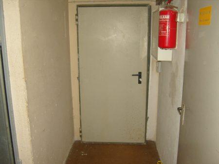 Brandschutztür, für z.B. Heizungskeller, Garage