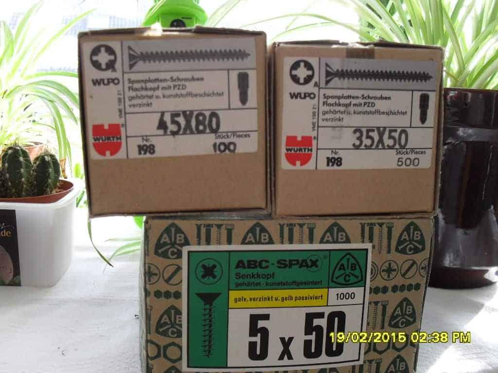 btl. spax / schrauben-posten günstig kaufen im baustoffhandel von