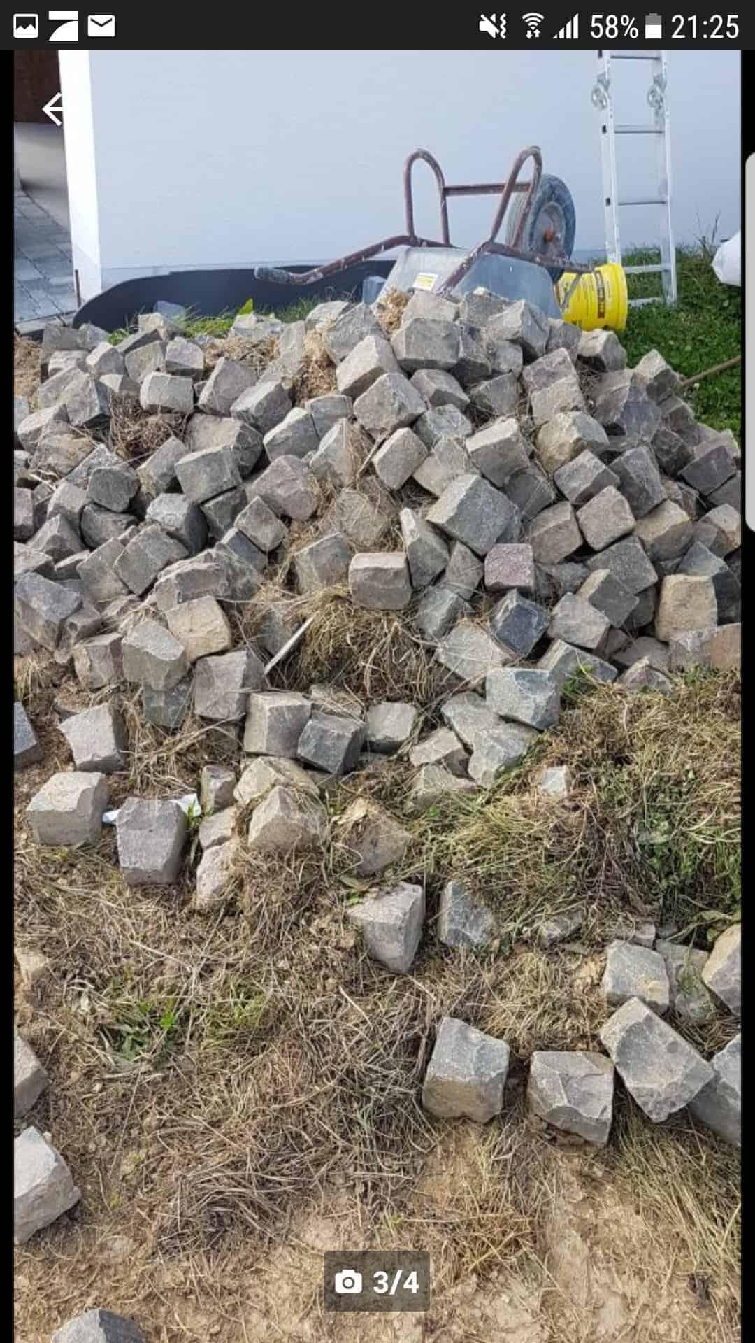 Basalt Natursteinpflaster