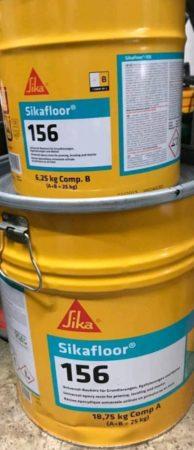 Sika 156,  Epoxidharz, Grundierung, Bodenbeschichtung