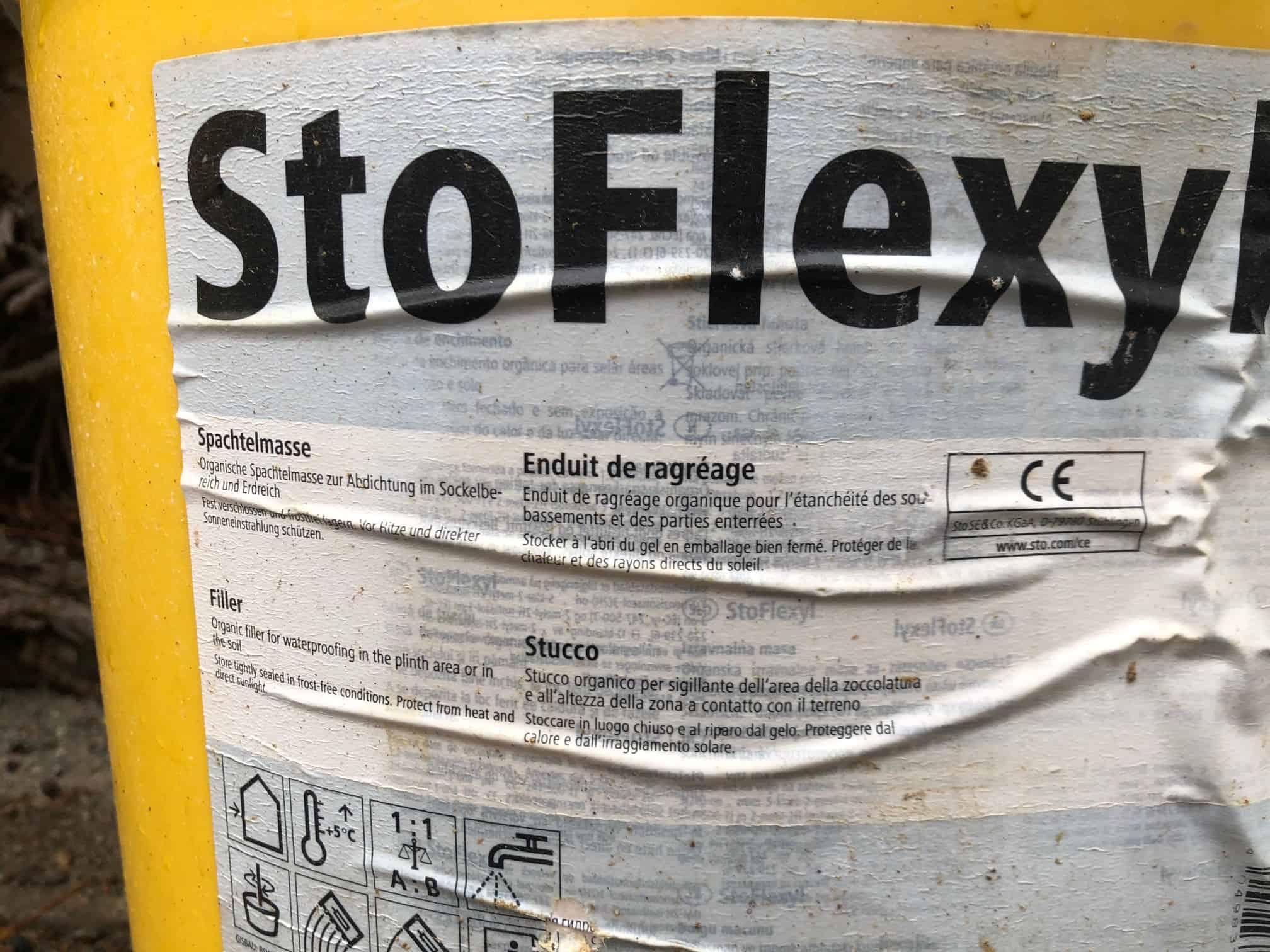 Stolit K, StoFlexyl & Sto-Armierungsputz