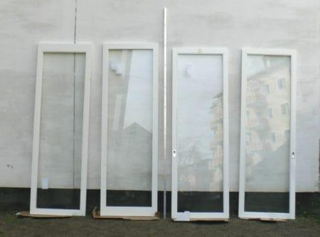Schiebetüranlage, innen, 3,70 x 2,86m