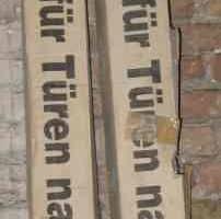 Eichen-Dekor Türzargen nach DIN 18101 OVP