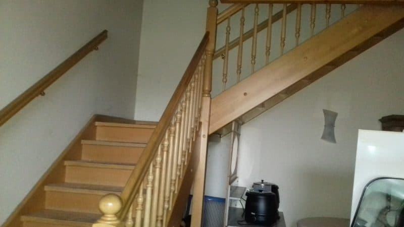 Massive Buchenholz Treppe