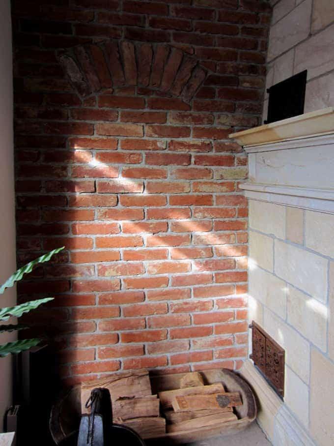 Antikziegel alte Mauersteine rustikale Ziegel Klinker Backsteine Verblender historisches Mauerwerk