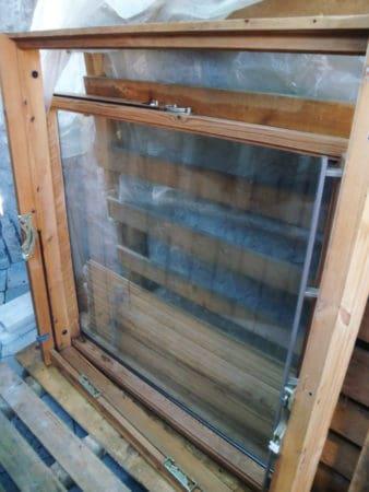 Gebrauchtes VELUX VL 085.100, Dachflächenfenster, Innenrahmen Kiefer,