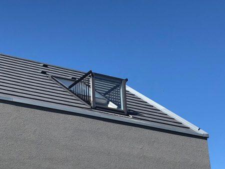 Velux Cabrio Dachaustritt Fenster