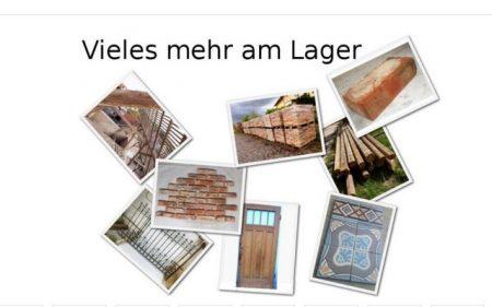 Alte Mauersteine Reichsformat Hohlziegel Ziegel Klinker Backsteine Rückbausteine historisch Mauerwerk