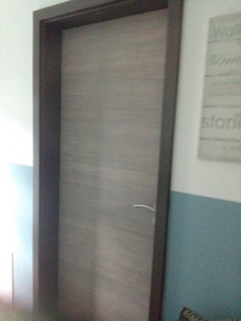 Zimmertür mit Zarge und Dückergarnitur