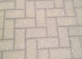 Verbundsteinpflaster Beton, grau (20x10 cm / ca. 22 qm) zu verschenken