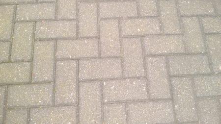 Verbundsteinpflaster Beton, grau (20×10 cm / ca. 22 qm) zu verschenken