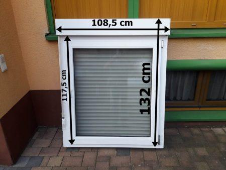 Doppelglas-Wärmeschutz-Fenster mit Aufsatz-Rolladen