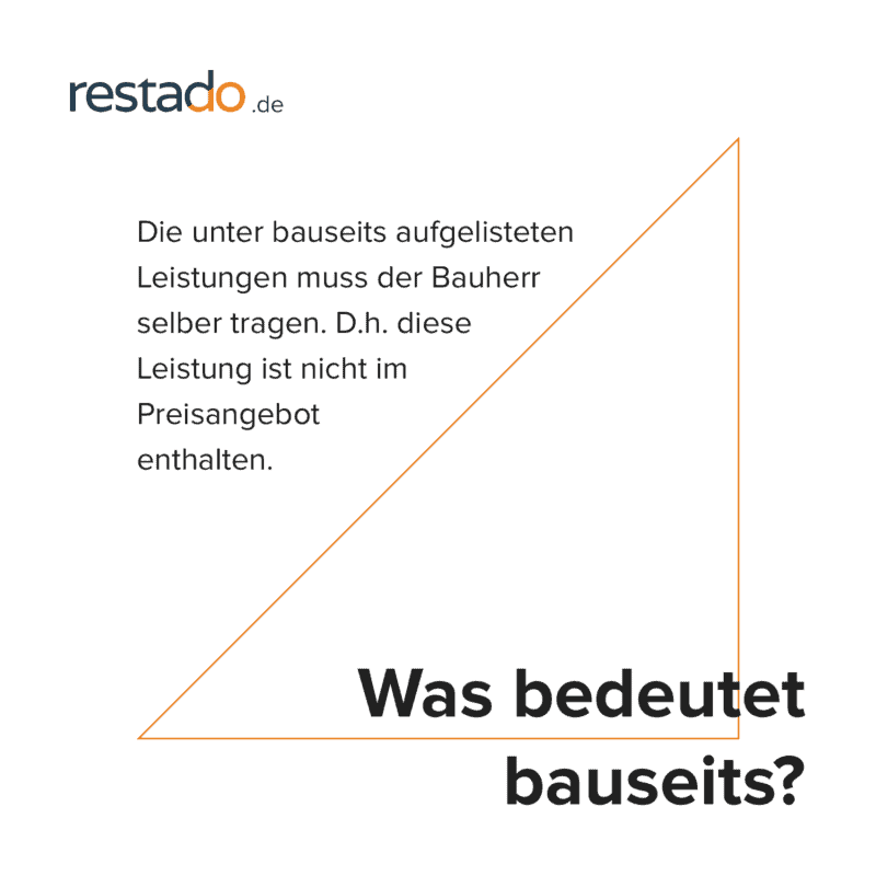 Bauseits Gestelltes Material