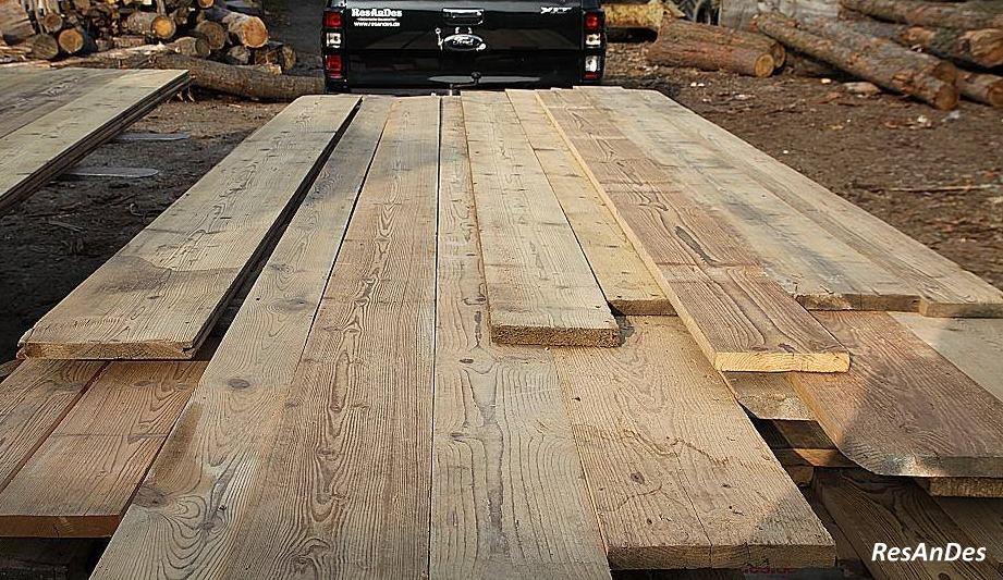 Holzdielen, Altholzdielung, Dielenboden