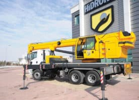 Mobile crane Hidrokon HK 60 22 T2 – 20 ton