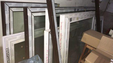 Kunststoff-Fenster 3-fach Verglasung  1235 x 1210