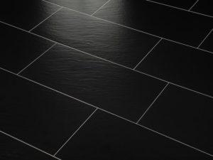 Bodenfliesen schwarz 30×60 plus zubehör
