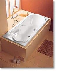 badewanne family 1800 x 800mm wei mit f en g nstig kaufen im baustoffhandel von restado. Black Bedroom Furniture Sets. Home Design Ideas