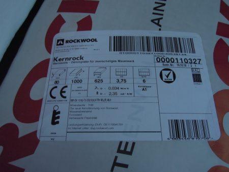 ROCKWOOL Kernrock 035 Steinwolle-Dämmplatten (80mm) 4€/qm