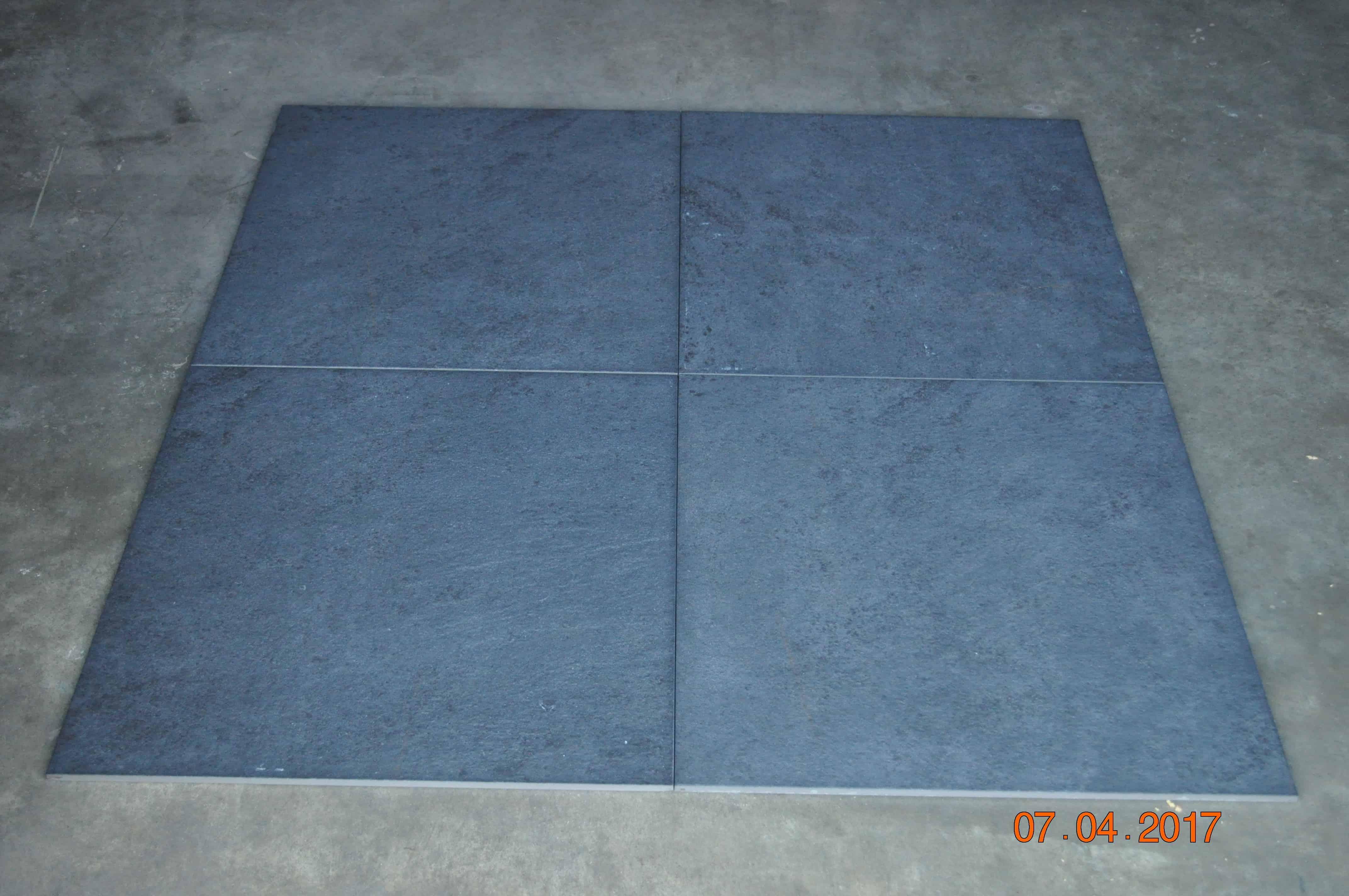 feinsteinzeug fliesen 60x60x1 1cm g nstig kaufen im. Black Bedroom Furniture Sets. Home Design Ideas
