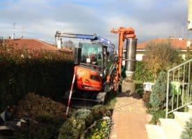 New piling / drilling rig  Tescar CF2