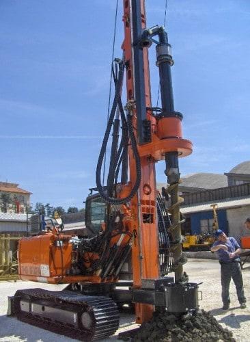 New piling / drilling rig  Tescar CF3 CFA
