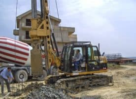 New piling / drilling rig  Tescar CF6