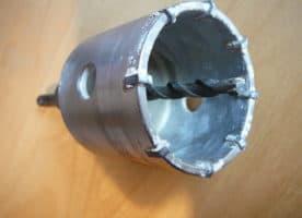 Bohrkrone, Durchmesser 65 mm mit SDS Plus-Aufnahme
