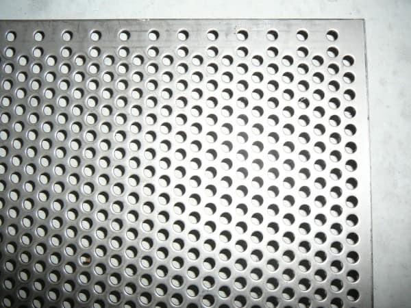 edelstahl lochblech 2mm metallteile verbinden. Black Bedroom Furniture Sets. Home Design Ideas