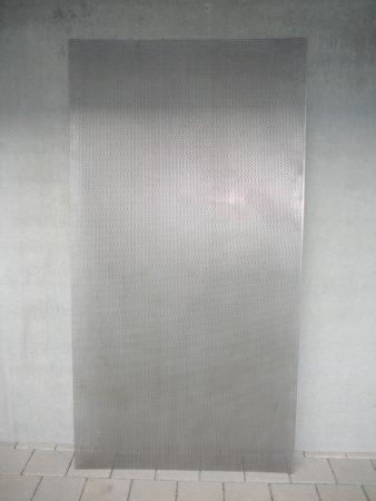 Lochblech Edelstahl, Rundlochung versetzt, 2 mm dick
