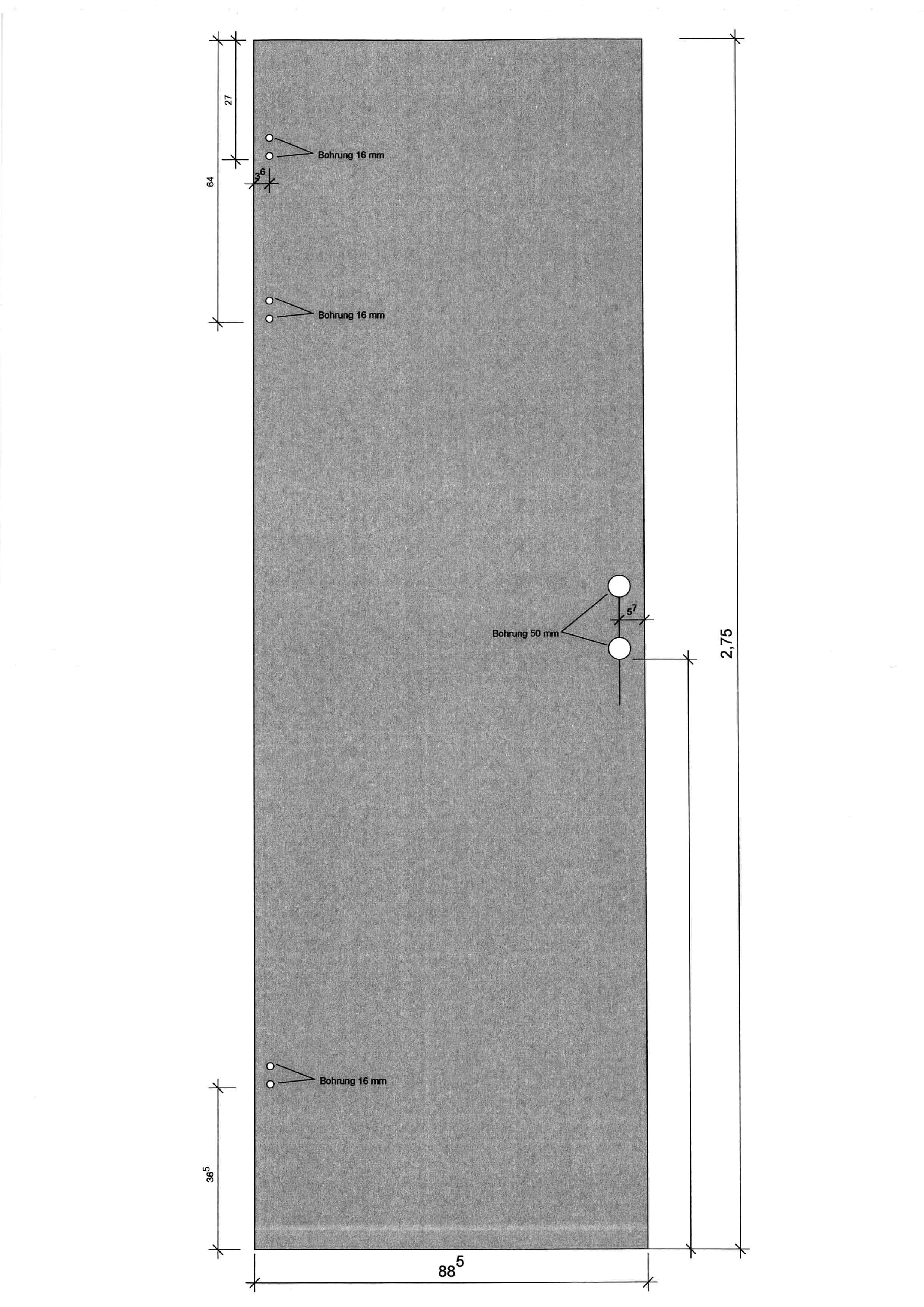 ganzglast re esg 10 mm mattiert und bodendichtung inkl 2 teiliger stahlzarge din rechts. Black Bedroom Furniture Sets. Home Design Ideas