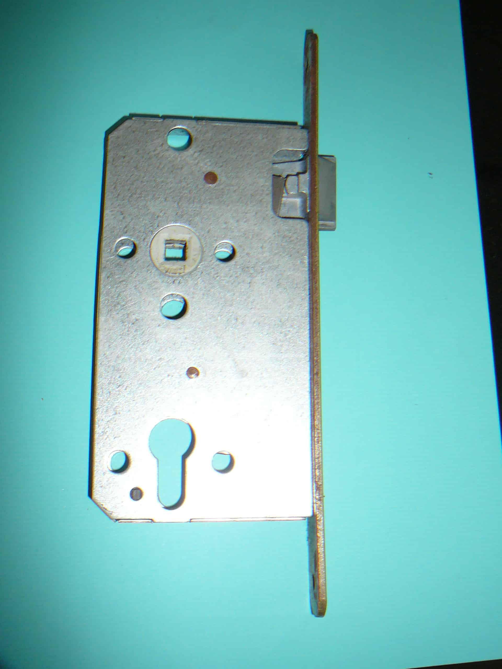 Einsteckschloss für Profilzylinder, Cabinet, 72 mm Entfernung Türzylinder zum Griff