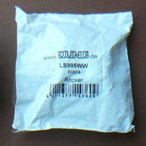 Jung LS 995 WW Flächenwippe für Serienschalter, alpinweiß (OVP)