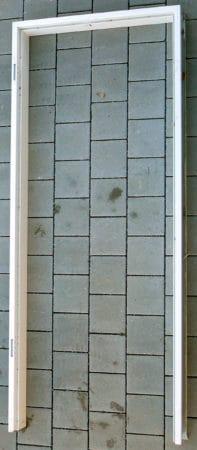 Stahl-Umfassungszarge, 2-teilig, Novoferm Profil 2140 zur nachträglichen Montage 0,885 x 2,135 m