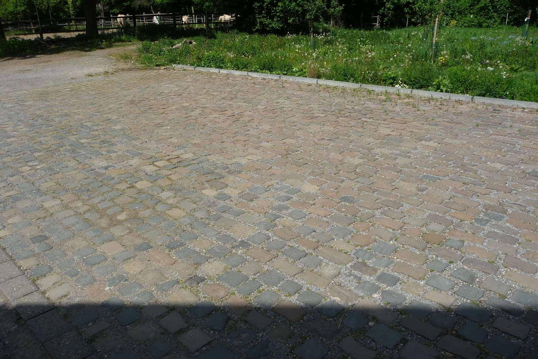 Kopfsteinpflaster - Natursteine, Großpflaster, historisch