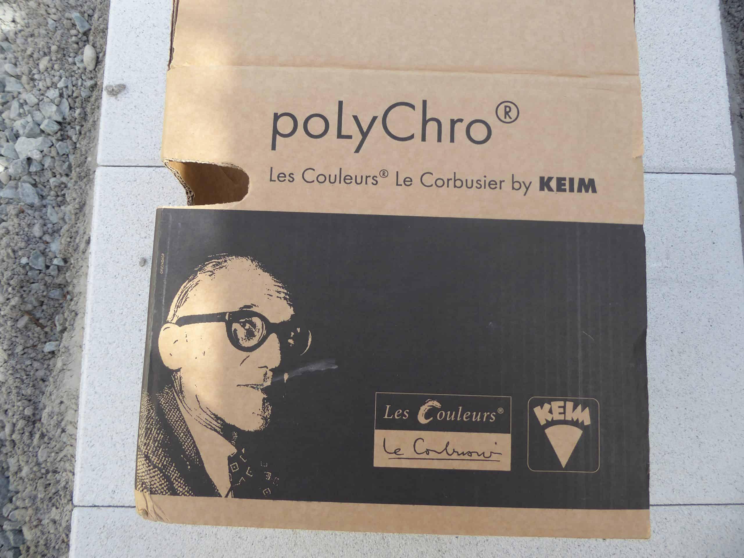 KEIM poLyChro® Les Couleurs® Le Corbusier – Fassadenfarbe