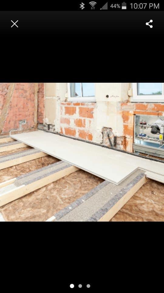 Bodenplatten Knauf Gifafloor