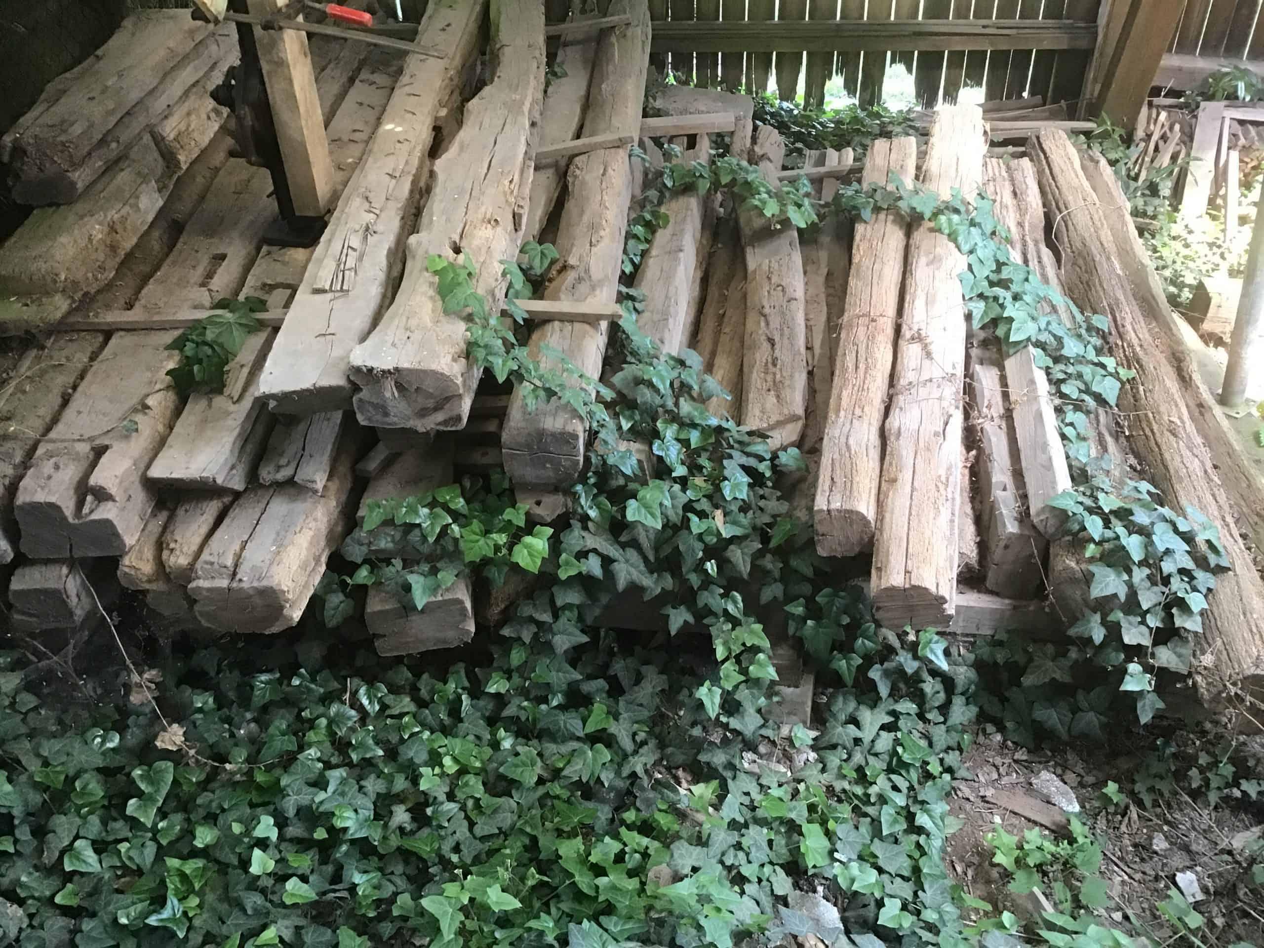 Fachwerkholz-Altholz Eiche