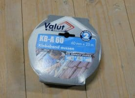 Valut air connect Klebeband KB-A 6 cm, 25 m