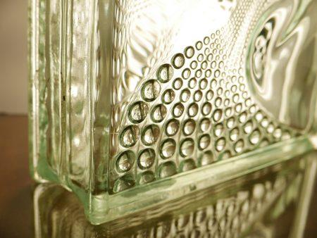 Glasbaustein Glasstein 70 Stück 25×25 cm