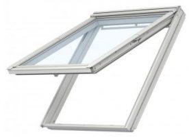 Velux Klapp-Schwing Dachfenster GPU SK08 0066 114x140 cm inkl. Innenfutter (LSB SK08 S08 2000) und Eindeckrahmen (EDZ SK08 2000)