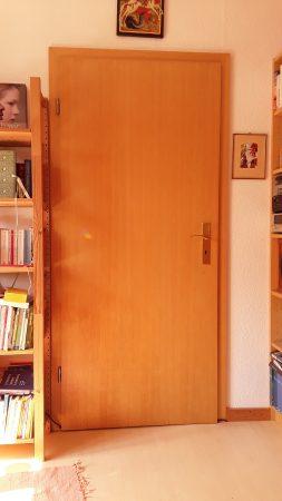 Zimmertür mit Futter / Zarge