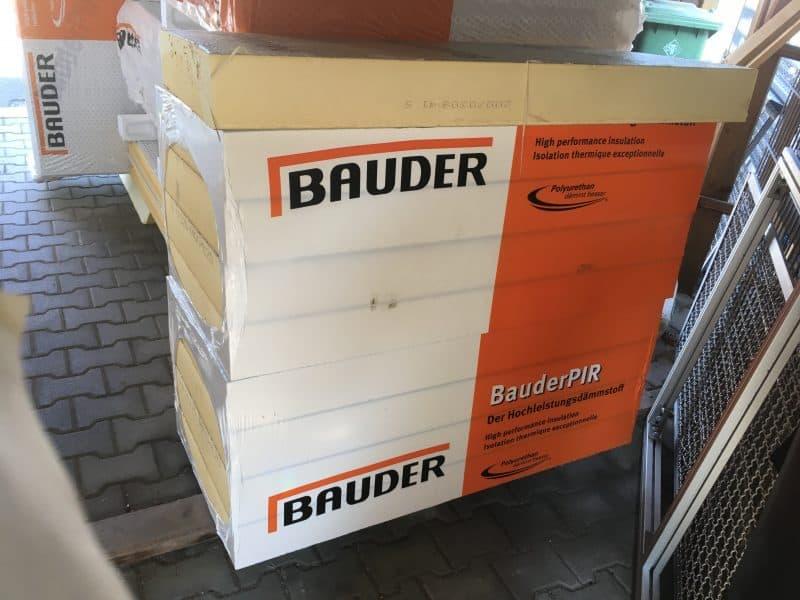 Bauder PIR FA TE Wärmedämmelement 120 mm