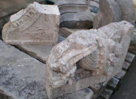 Steinfragmente Sandsteinfragmente Gartendeko