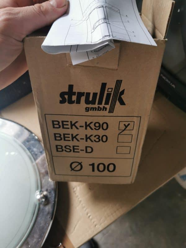 Strulik BEK-K90 100 Brandschutzklappe brandschutz Lüftung