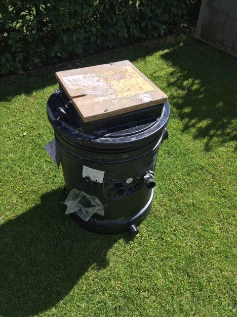KSB Hebeanlage Ama-Drainer-Box 12 mit Tauchpumpe Ama-Drainer N301 SE