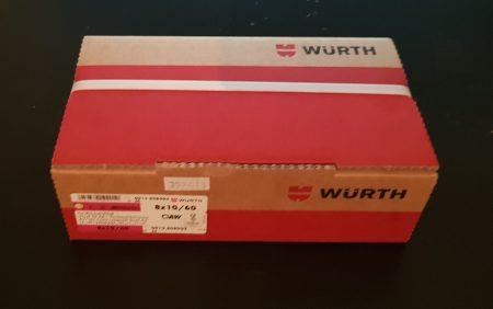 Würth Kunststoff-Rahmendübel W-UR F 8
