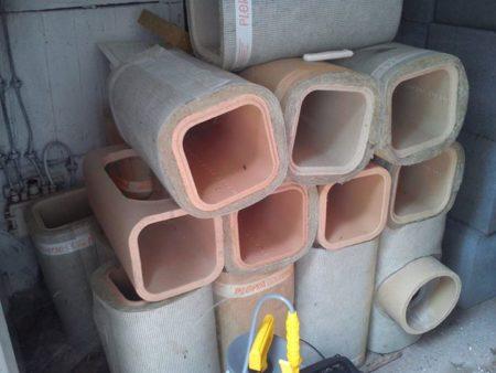 Schornstein doppelzugig 8,9m